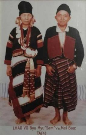 Lhaovo traditional dress 4